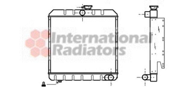 Radiateur, refroidissement du moteur - VWA - 88VWA02002008