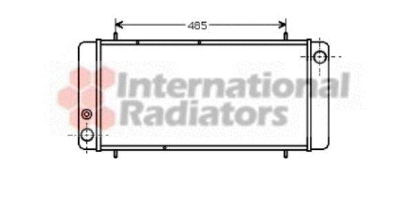 Radiateur, refroidissement du moteur - VWA - 88VWA02002040