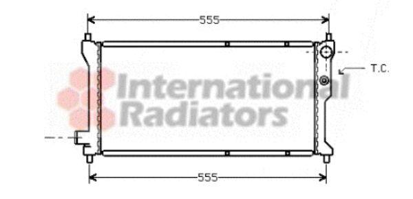 Radiateur, refroidissement du moteur - VWA - 88VWA02002041