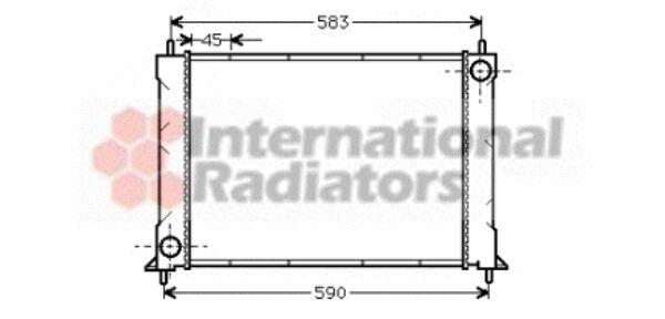Radiateur, refroidissement du moteur - VWA - 88VWA02002119