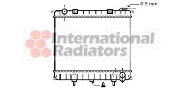 Radiateur, refroidissement du moteur - VWA - 88VWA02002126