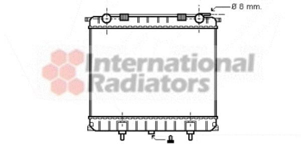 Radiateur, refroidissement du moteur - VWA - 88VWA02002125