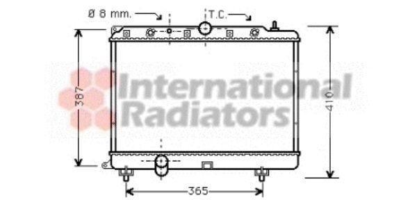 Radiateur, refroidissement du moteur - VWA - 88VWA02002154