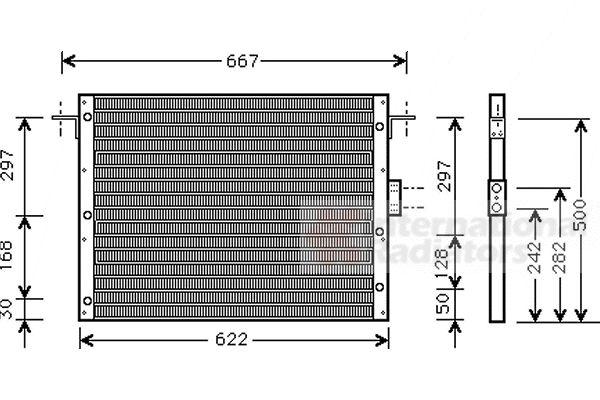Condenseur, climatisation - VWA - 88VWA02005075