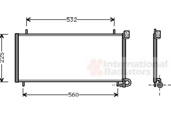 Condenseur, climatisation - VWA - 88VWA02005115