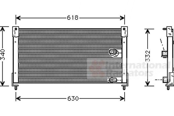 Condenseur, climatisation - VWA - 88VWA02005116