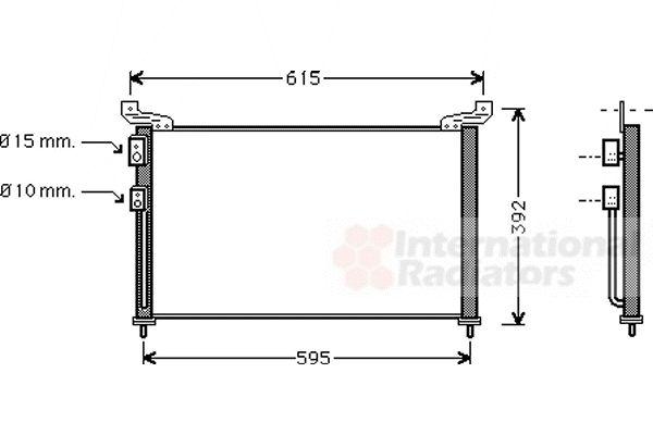 Condenseur, climatisation - VWA - 88VWA02005136