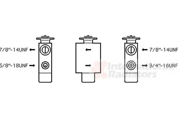 Détendeur, climatisation - VWA - 88VWA06001093