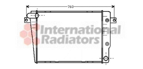 Radiateur, refroidissement du moteur - VWA - 88VWA06002018