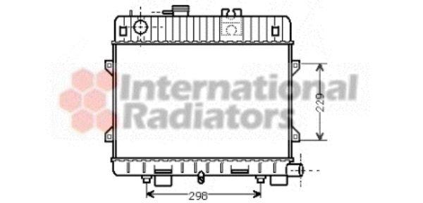 Radiateur, refroidissement du moteur - VWA - 88VWA06002032