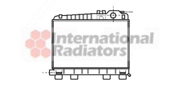 Radiateur, refroidissement du moteur - VWA - 88VWA06002043