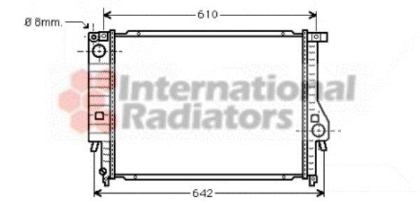 Radiateur, refroidissement du moteur - VWA - 88VWA06002096