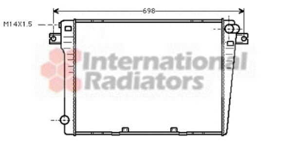 Radiateur, refroidissement du moteur - VAN WEZEL - 06002109