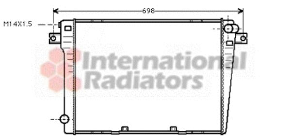 Radiateur, refroidissement du moteur - VWA - 88VWA06002109