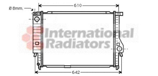 Radiateur, refroidissement du moteur - VWA - 88VWA06002132