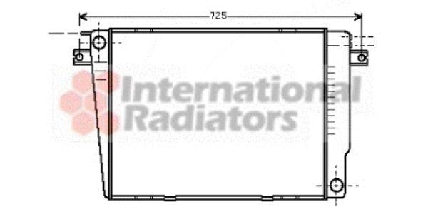 Radiateur, refroidissement du moteur - VAN WEZEL - 06002241
