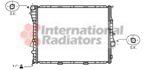 Radiateur, refroidissement du moteur - VWA - 88VWA06002274