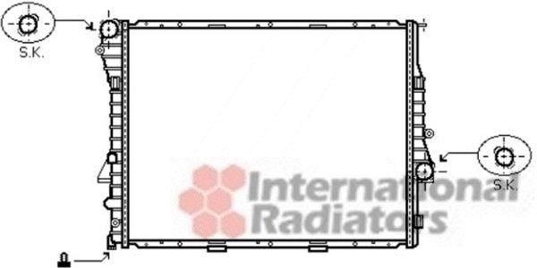 Radiateur, refroidissement du moteur - VWA - 88VWA06002302