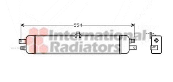 Radiateur d'huile - VAN WEZEL - 06003037
