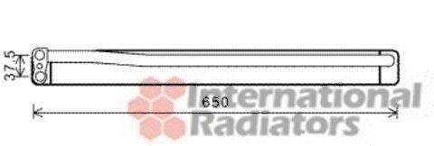 Radiateur d'huile - VAN WEZEL - 06003394