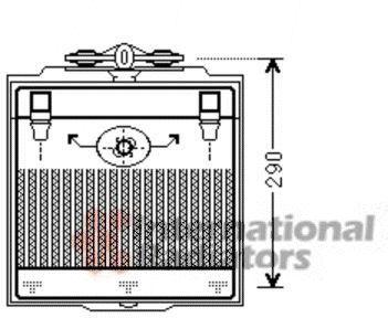 Radiateur d'huile - VAN WEZEL - 06003400