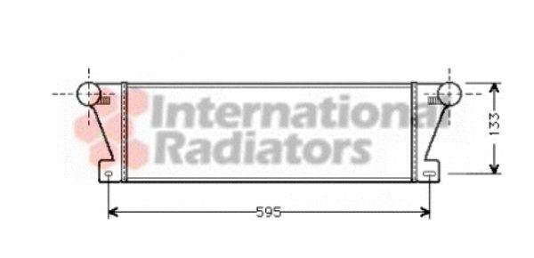 Intercooler, échangeur - VWA - 88VWA06004177