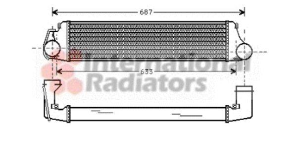Intercooler, échangeur - VWA - 88VWA06004207