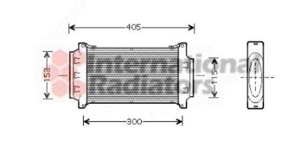 Intercooler, échangeur - VWA - 88VWA06004262