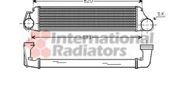 Intercooler, échangeur - VWA - 88VWA06004282