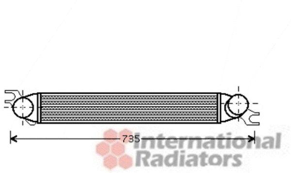 Intercooler, échangeur - VWA - 88VWA06004340