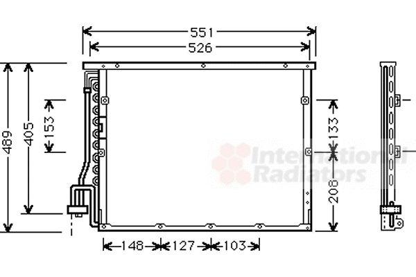 Condenseur, climatisation - VWA - 88VWA06005148