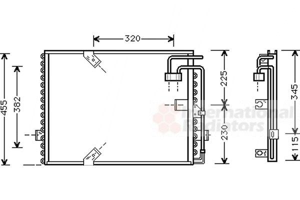 Condenseur, climatisation - VWA - 88VWA06005187