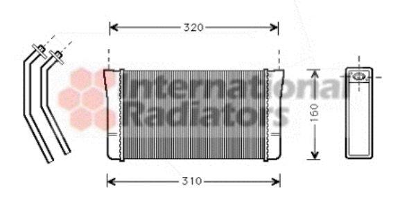 Système de chauffage - VAN WEZEL - 06006080