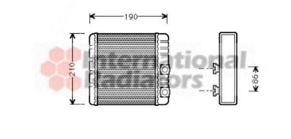 Système de chauffage - VAN WEZEL - 06006211