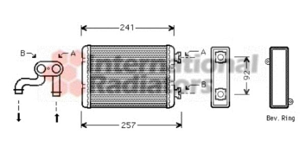 Système de chauffage - VAN WEZEL - 06006257