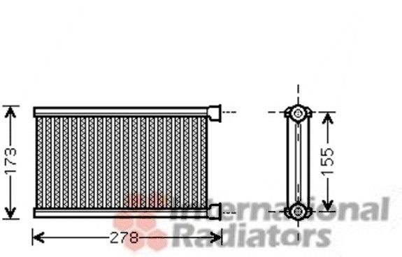 Système de chauffage - VAN WEZEL - 06006344