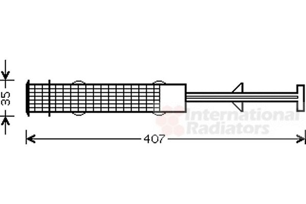 Filtre déshydratant, climatisation - VWA - 88VWA0600D270