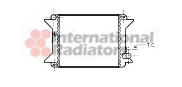 Radiateur, refroidissement du moteur - VAN WEZEL - 09002001