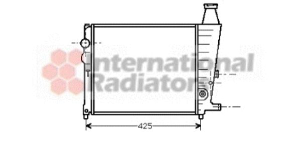 Radiateur, refroidissement du moteur - VWA - 88VWA09002012