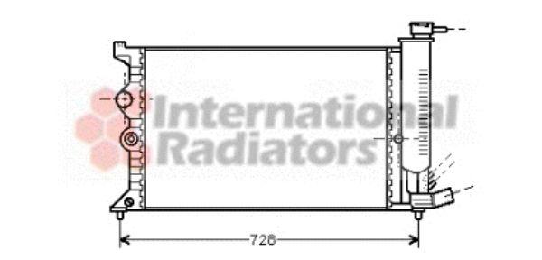 Radiateur, refroidissement du moteur - VWA - 88VWA09002067