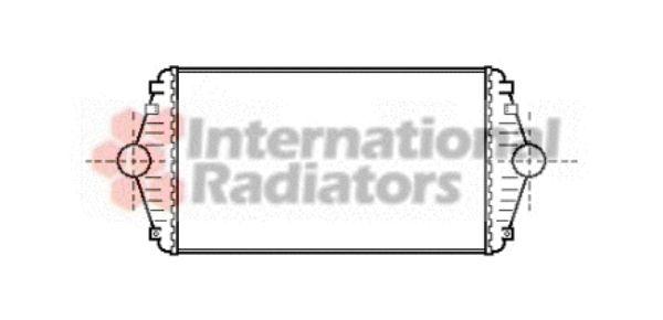 Intercooler, échangeur - VAN WEZEL - 09004086