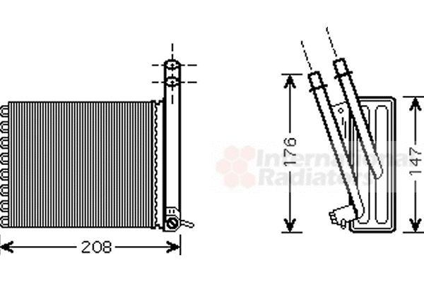 Système de chauffage - VAN WEZEL - 09006243