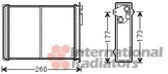 Système de chauffage - VAN WEZEL - 09006260