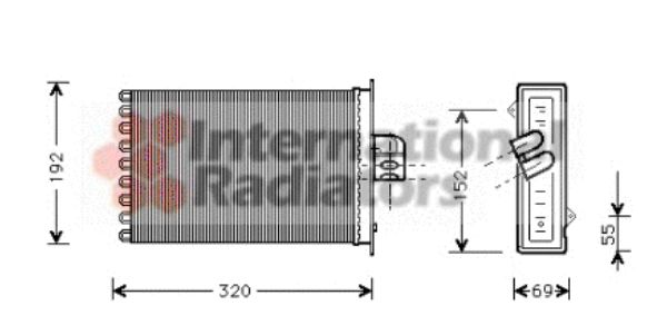 Système de chauffage - VAN WEZEL - 07006045