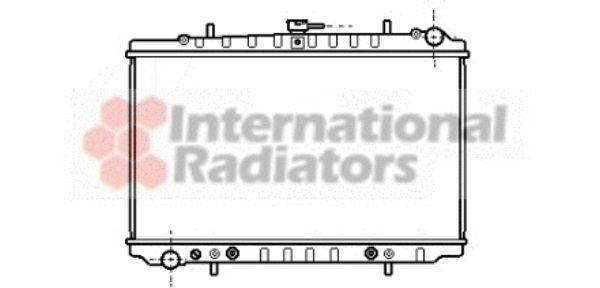Radiateur, refroidissement du moteur - VWA - 88VWA13002034