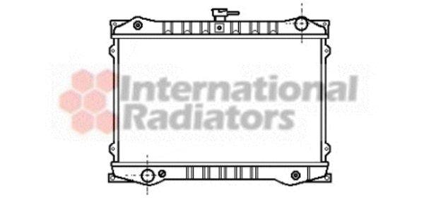 Radiateur, refroidissement du moteur - VAN WEZEL - 13002036
