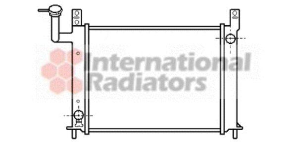 Radiateur, refroidissement du moteur - VAN WEZEL - 13002081