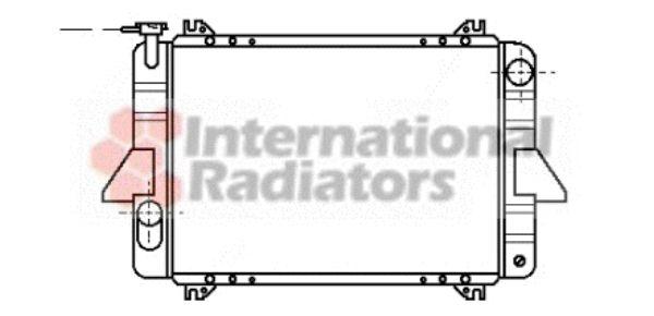 Radiateur, refroidissement du moteur - VAN WEZEL - 13002088