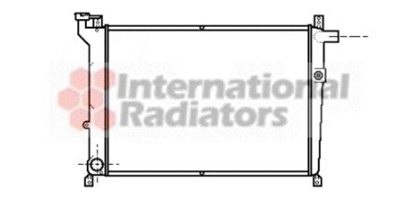 Radiateur, refroidissement du moteur - VAN WEZEL - 13002098