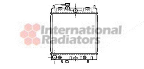 Radiateur, refroidissement du moteur - VAN WEZEL - 13002131